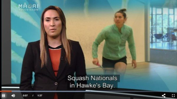 Report and Video from Maori TV